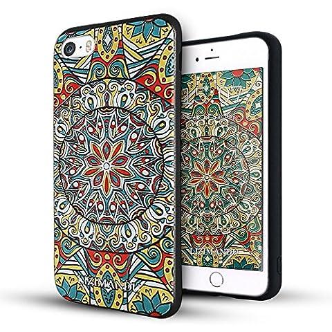 iPhone 5 hülle,iPhone 5s hülle,iPhone se hülle,Lizimandu TPU 3D Handyhülle