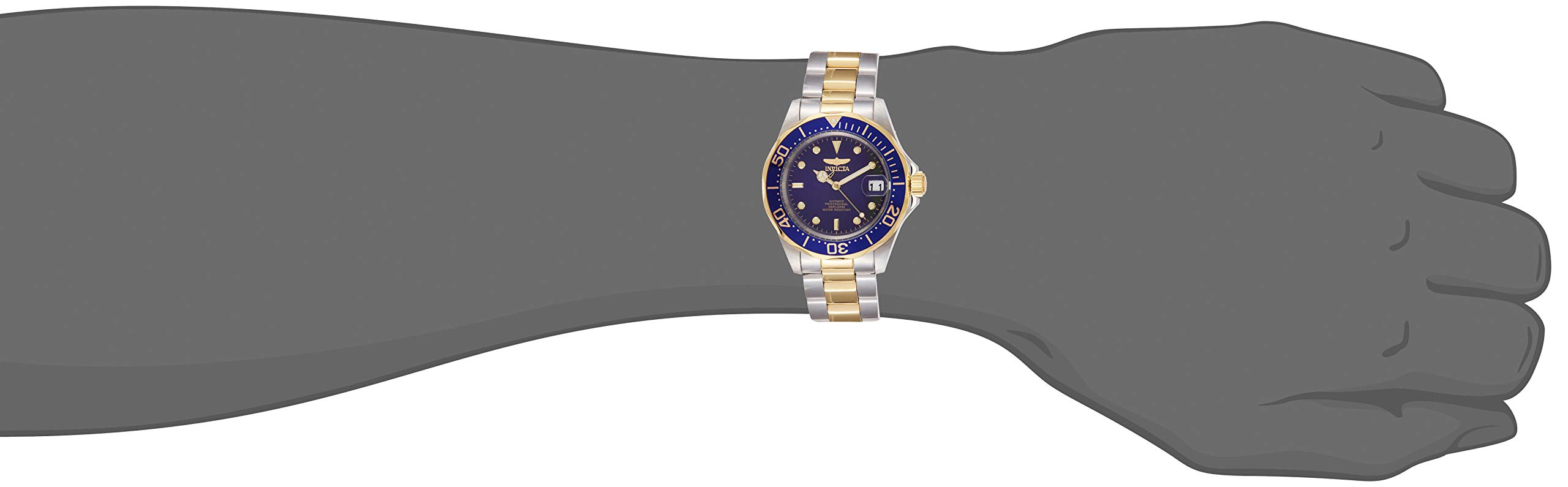 Invicta 8928 Pro Diver Reloj Unisex acero inoxidable Automático Esfera