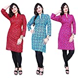 #2: Women Kurti Kurti for Woman Pack 3 (Kurti Combo Pack )