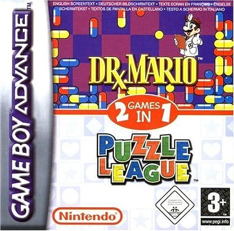 Dr Mario & Puzzle League (GBA) by Nintendo