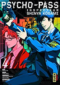 Psycho-pass Inspecteur Shinya Kôgami Edition simple Tome 4