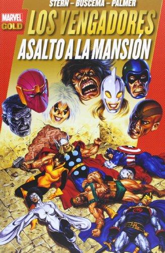 Los Poderosos Vengadores 09: Asalto A La Mansion (Marvel Gold)