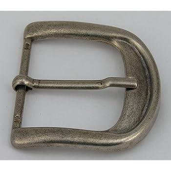 1 fermoir boucle de ceinture boucle 4 cm Argent Vieilli inoxydable.  Nouveau. 07.01 34e6b179203