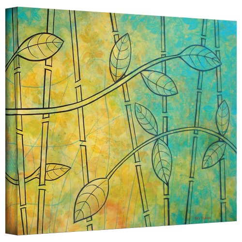 art-wall-happy-jungle-by-herb-dickinson-gallery-wrapped-canvas-artwork-18-by-24-inch