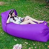 Nie-hu aufblasbare Luft-Liege-Faule Tasche Sofa Portable Luft Betten Schlafcouch Couch für Reisen Camping Beach Park Hinterhof