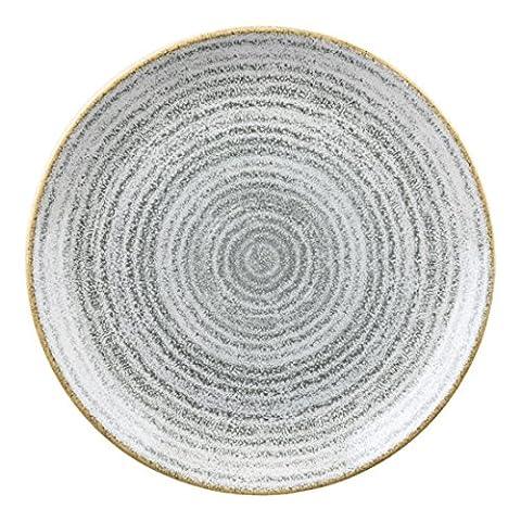 Churchill Studio Impressions Gris pierre Assiette 217mm