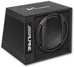 Alpine SWE-355 - 30cm Aktivsubwoofer im Bassreflexgehäuse
