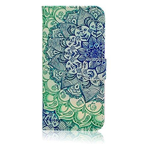 Apple iPhone 6Hülle, iPhone 611,9cm Wallet Fall, Hohe Qualität PU Leder Flip Case Flip Wallet Schutzhülle mit Standfunktion für Apple iPhone 611,9cm (integrierter Kreditkarte/ID Karten Slot) 8