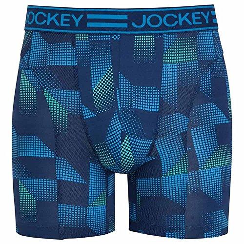 Jockey® Boxer Trunk 2Pack Aqua Green