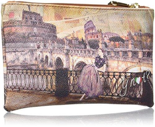 Ynot Damen I-341 Taschenorganizer, 20x12x1 cm Mehrfarbig (Roma Retro')