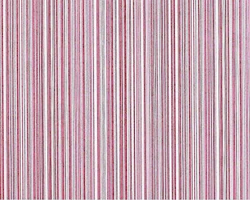Streifen Tapete Vliestapete EDEM 673-96 XXL Designer Kult-Tapete rot-violett weinrot weiß dezente...