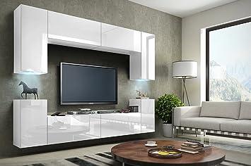 Future 1 Wohnwand Anbauwand Schrankwand Mobel Wand Tv Stander Wohnzimmer