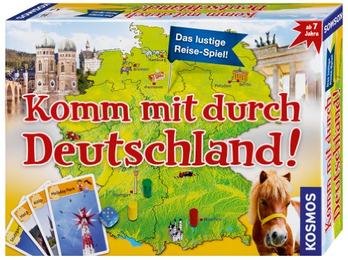 Kosmos 6983790 Komm mit durch Deutschland - Deutschlandreise fr Kinder