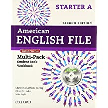 American English File Starter. Split Edition Multipack A with Online Practice and iChecker 2nd Edition (American English File Second Edition)