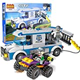 #6: Babytintin™ Cogo Police Chase Getaway Blocks Building Set 261 Pieces (4151)