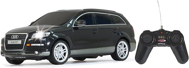Jamara 400080 - RC Audi Q7 1:24, 27 MHz inklusive Fernsteuerung, schwarz