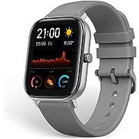 Amazfit GTS Smartwatch mit anpassbaren Widgets, schmalem Metallgehäuse, Wasserdichtigkeit bis zu 5 ATM, EU-weitem Service und Garantie (Grey)