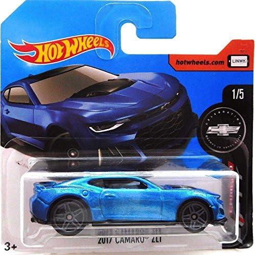 Hot Wheels 2017 Camaro Fifty Year Celebration 2017 Camaro ZL1 Blue 360/365 (Short Card) | D'adopter La Technologie De Pointe