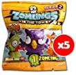 Zomlings In The Town (Series 2) - 5 x Zomling Blind Bags