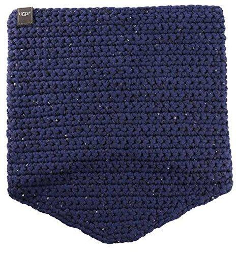 UGG Womens Crochet Snood W/ Lurex & Sequins In Indigo