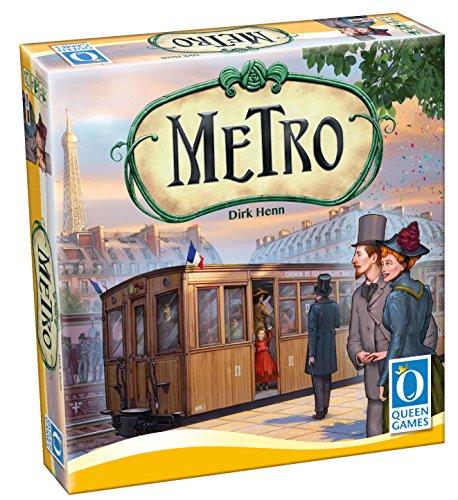 """Queen Games 10241 - \""""Metro\"""" Brettspiel"""