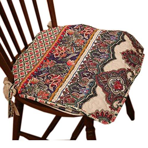 Blancho Intérieur/extérieur Soft Home/Bureau Siège carré Coussin respirant Coussin Fleur, Rhone Style