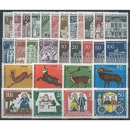 Goldhahn Berlin postfrisch Jahrgang 1966 komplett Briefmarken für Sammler