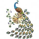 MagicPro Orologio da Parete Pavone