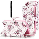 Slynmax Leder Tasche Schutzhülle für iPhone 6 6S 4,7