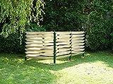 Garten Komposter 2500L Thermokomposter Kompostbehälter Kompostsilo