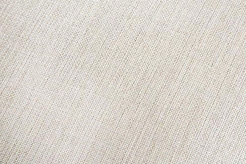 Elegantes Hussen 2er Sofa RIVIERA 210cm beige inkl. Kissen Couch Zweisitzer - 6