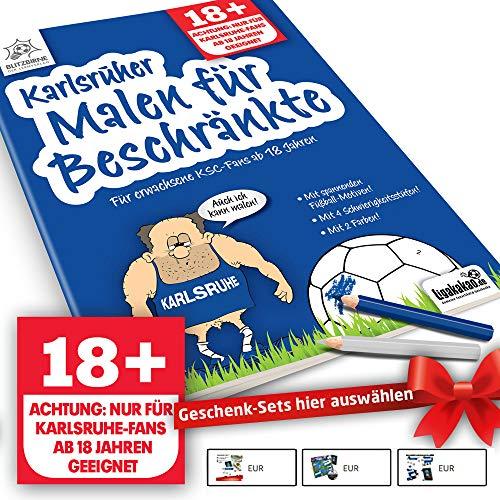 Karlsruhe SC Fanartikel ist jetzt Karlsruher Malbuch für Beschränkte by Ligakakao.de