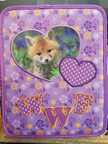 WWF ASTUCCIO MAXI GIRL COMPLETO 2 CERNIERE