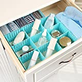 #5: Honestystore® Adjustable Stretch Clapboard Plastic Drawer Divider Partition Storage Organizer DIY Home Useful Storage Box