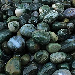 ITOS365 Pebbles Stones for Decoration - Home Decorative Vase Fillers Stones, 1 Kg