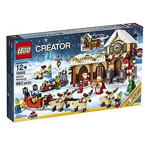 Lego 10245 Villaggio Invernale: La Bottega di Babbo Natale