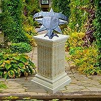 Sogno metallo meridiana da giardino con pietra (Metallo Meridiana)