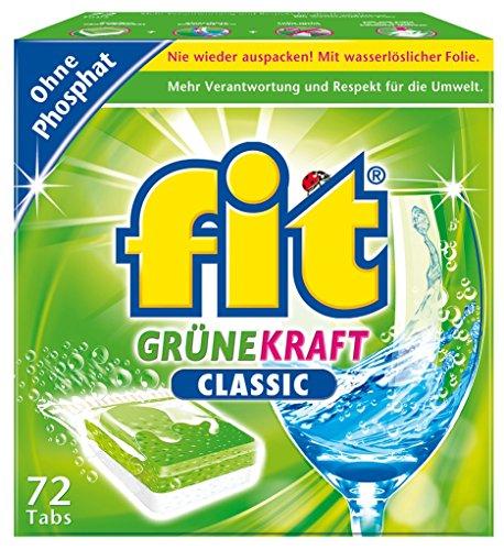 fit Geschirrspültab Grüne Kraft Classic im Test