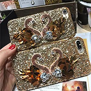iPhone 7 Luxury Beauty Crystal Rhinestone [Camelliae Series] Sparkle Bedazzled Jeweled Bling Phone Hard Case For iPhone 7(2016 Release)