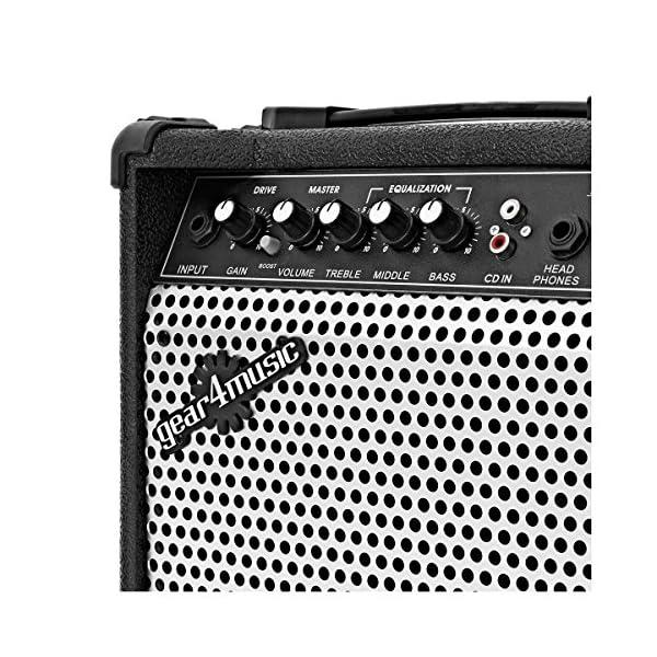 Amplificatore per Chitarra Elettrica 15W da Gear4music