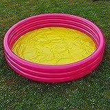 Unbekannt Kinder Planschbecken Jumbo Pool Rund 170 cm Swimmingpool Schwimmbecken Pink Rosa
