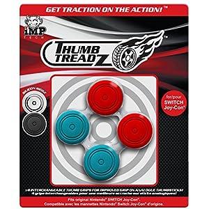 Nintendo Switch Thumb Treadz – Red/Blue (New)