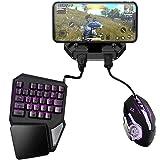 DZSF Battledock Converter Bluetooth 5.0 Gamepad Pubg mobil Android PUBG kontroll mobilkontroll spel med tangentbordsmus för I