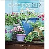 DRAEGER 79003082 Petit calendrier mural 14x18cm Jardins 2019