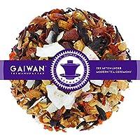 "No. 1409: Fruit tea loose leaf ""Virgin Pina Colada"" - 100 g (3.5 oz) - GAIWAN® GERMANY - apple, rose hips, hibiscus, coconut flakes, pineapple"