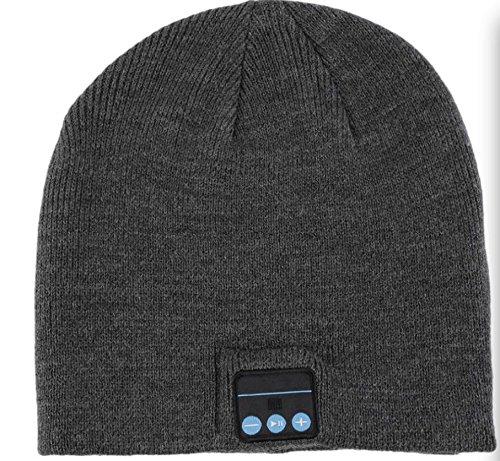 AlpenTab ALPHEADDG Pepi Bluetooth Stereo Kopfhörer 3.0 100% Wolle dunkelgrau