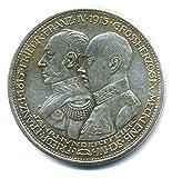Münze 5 Mark A Deutsches Reich 1915 - Kaiserreich - Jahrhundertfeier Replica
