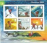 2004 CHRISTMAS MINIATURE SHEET. by Royal Mail
