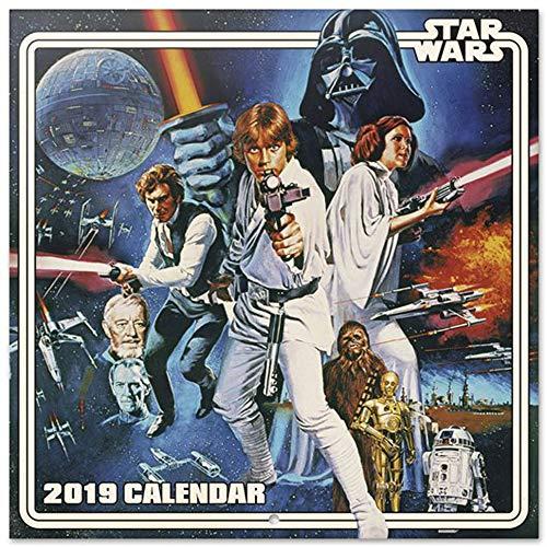 empireposter Star Wars - Stormtrooper - Offizieller Film Kalender 2019 - Größe 30x30 cm