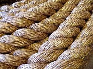 WESTWARD Corde naturelle en manille (25 mm) WESTWARD rope and Wire de guerre, au mètre